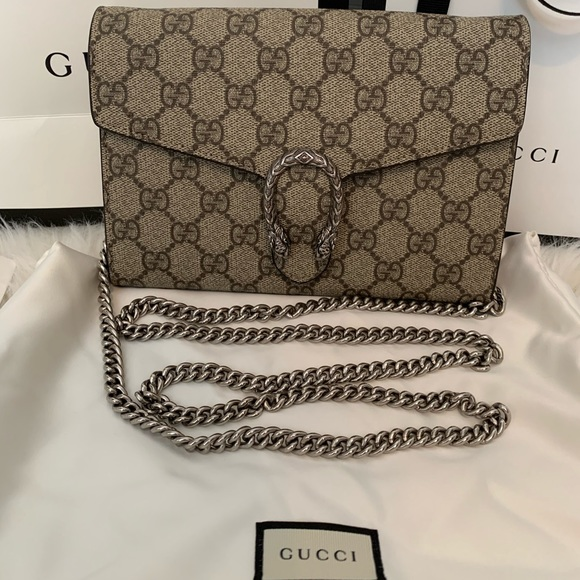 Gucci Handbags - Gucci Dionysus Wallet on a Chain